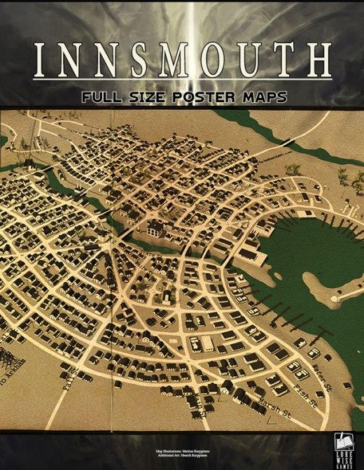 Map of Innsmouth